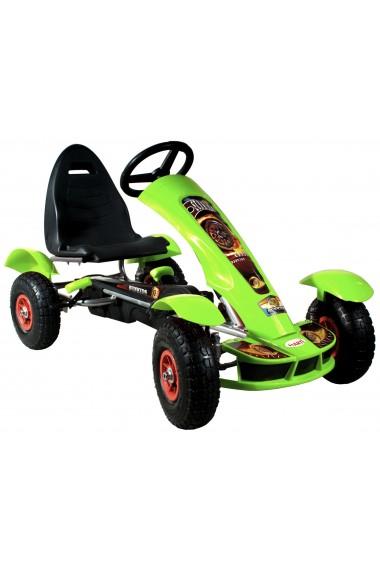 Go-Kart à pédales Formula Sport vert