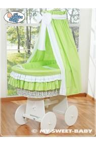 Berceau bébé osier Bellamy - Vert