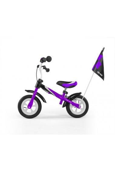 DRAGON DELUXE AVEC FREIN VIOLETTE - vélo sans pédales