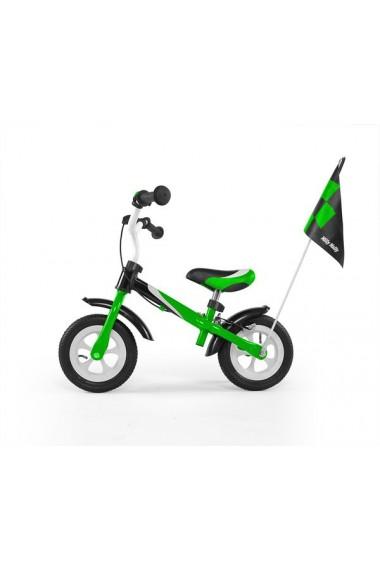 DRAGON DELUXE AVEC FREIN VERT - vélo sans pédales
