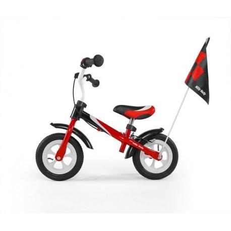 DRAGON DELUXE AVEC FREIN ROUGE - vélo sans pédales