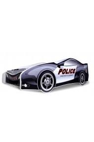 Lit voiture de Police avec matelas 180x80