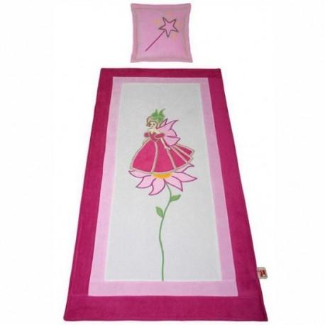 Couverture de lit et un oreiller Princesse