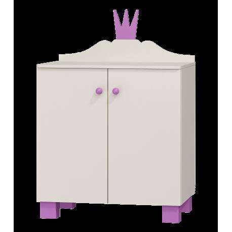 Commode Princesse 2 portes