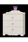 Commode Princesse - 3 tiroirs