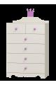 Commode Princesse - 6 tiroirs