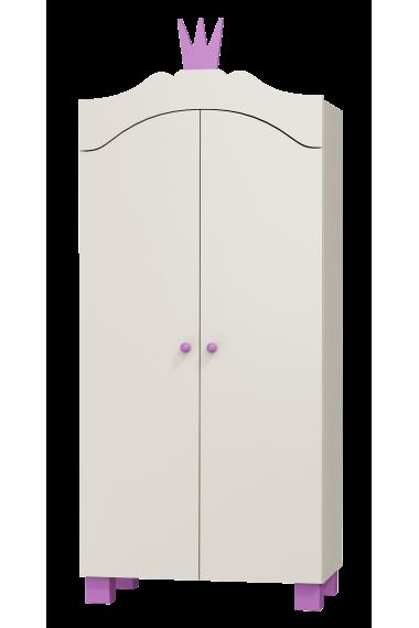 Armoire Princesse 2 portes
