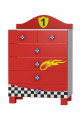 Commode Super Vitesse - 6 tiroirs