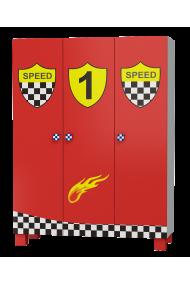 Armoire Super Vitesse 3 portes