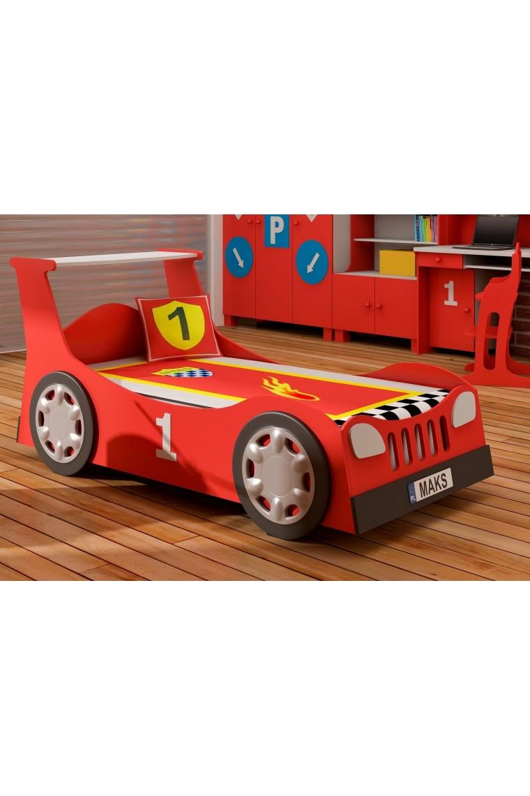Lit voiture gigogne 180x90 cm - Lit superpose voiture ...