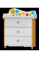 Commode Rainbow - 3 tiroirs avec échangeur
