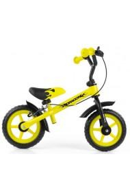 DRAGON AVEC FREIN JAUNE - draisienne vélo sans pédales
