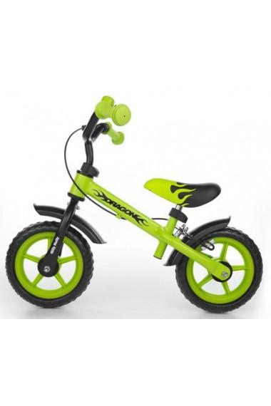 DRAGON AVEC FREIN VERT - vélo sans pédales