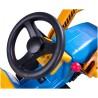 Voiture électrique Bulldozer bleu