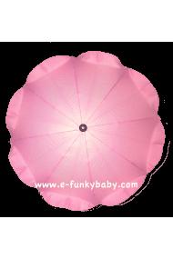 Ombrelle pour poussette universelle rose