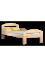 Lit en bois de pin Tim2 160 x 70 cm