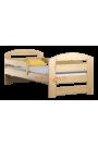 Lit en bois de pin Kam3 160 x 70 cm