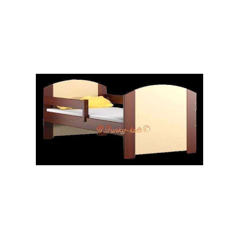 Lit en bois de pin massif avec tiroir kam4 160x70 cm - Lit bois massif tiroir ...