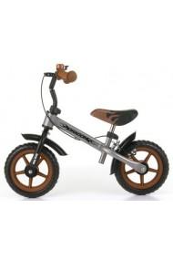 DRAGON AVEC FREIN ARGENT - draisienne vélo sans pédales
