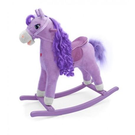Cheval à Bascule Princesse Violette