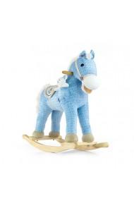 Cheval à Bascule Pony bleue