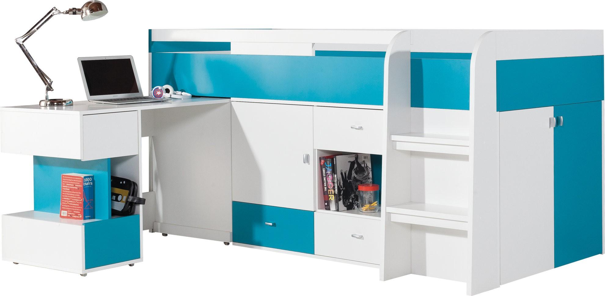 lit mezzanine fille avec bureau fabulous agrandir un lit. Black Bedroom Furniture Sets. Home Design Ideas