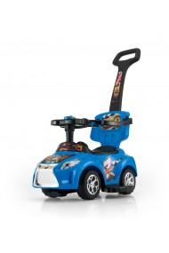 Porteur voiture 3 en 1 KID bleue