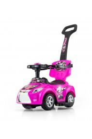 Porteur voiture 3 en 1 KID rose