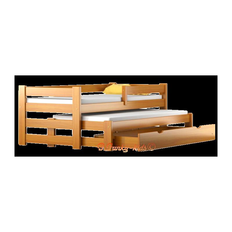 Lit b b en bois avec tiroir id es novatrices de la - Matelas 80 cm de large ...