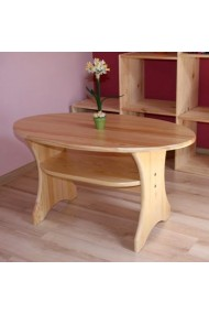 Table en bois massif de pin