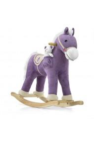 Cheval à Bascule Pony violet