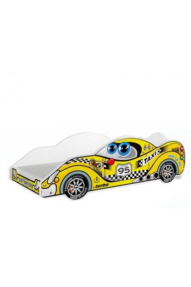 Lit voiture avec matelas 180x90