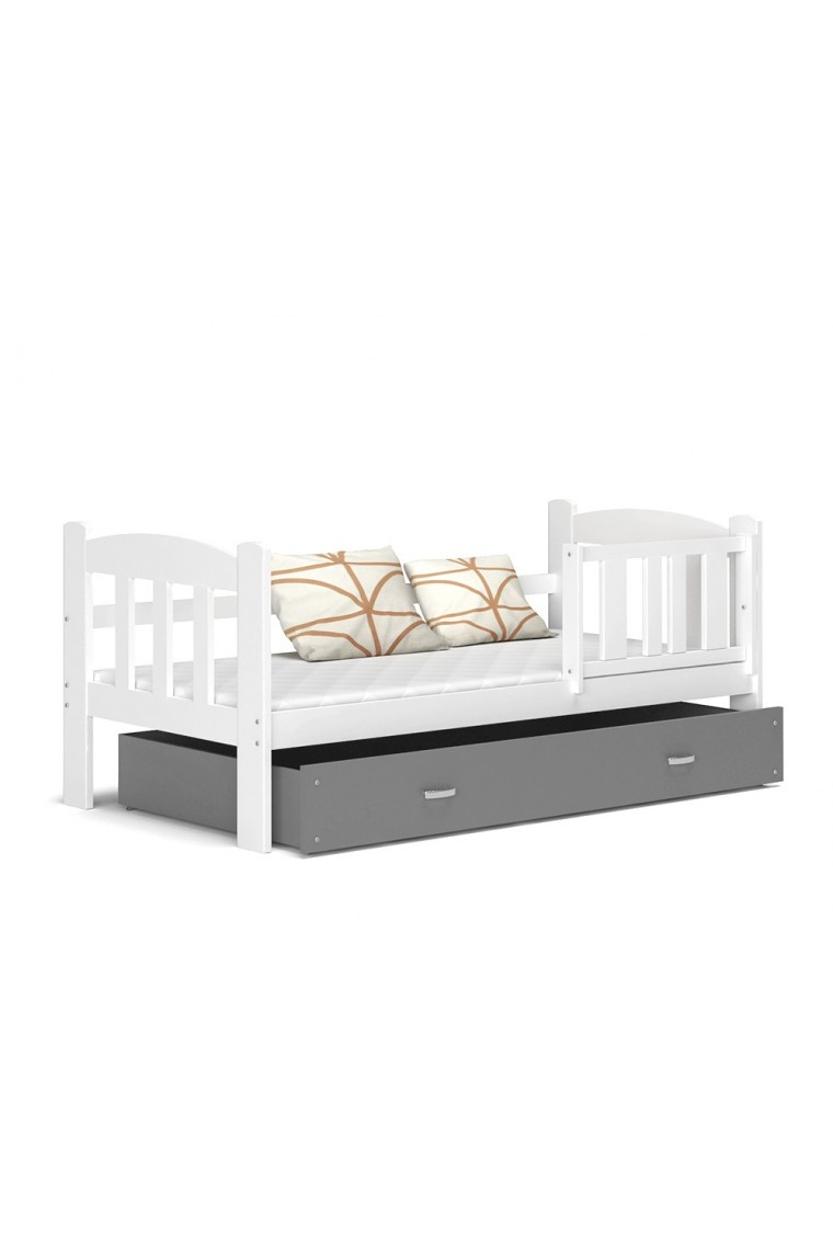 lit enfant teddy avec tiroir 160x70 cm. Black Bedroom Furniture Sets. Home Design Ideas