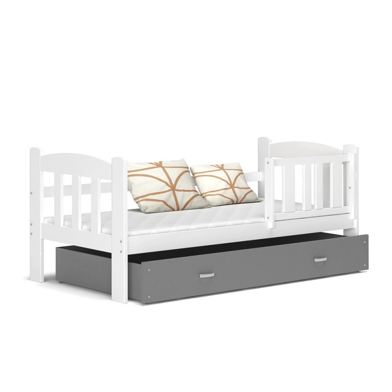 lit enfant teddy avec tiroir 160x70 cm. Black Bedroom Furniture Sets. Home Design Ideas
