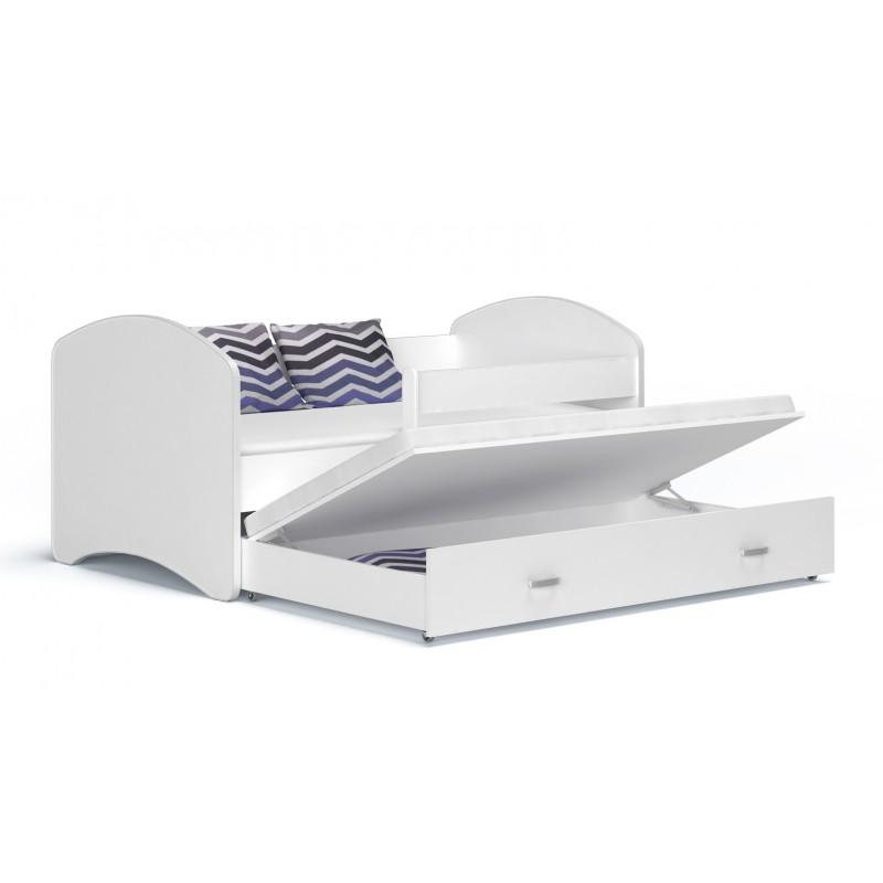 lit enfant gigogne lucky collection 200x90 cm. Black Bedroom Furniture Sets. Home Design Ideas