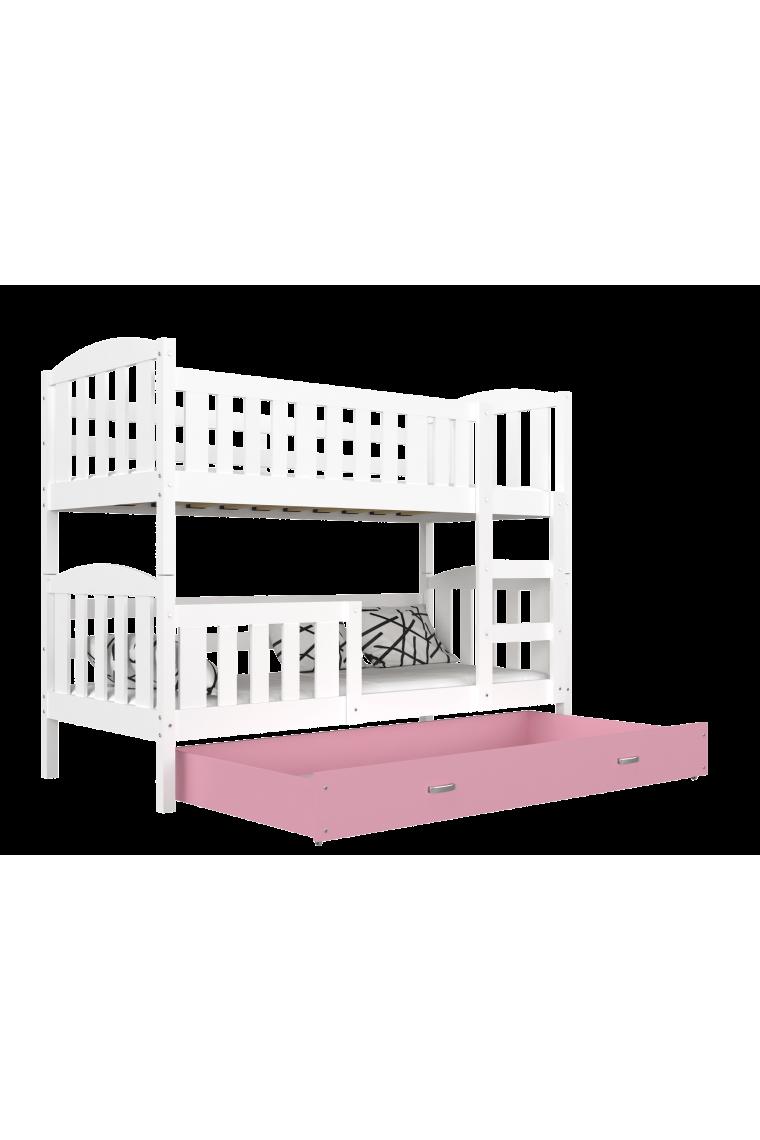 lit superpos jacob 2 avec tiroir 160x80 cm. Black Bedroom Furniture Sets. Home Design Ideas