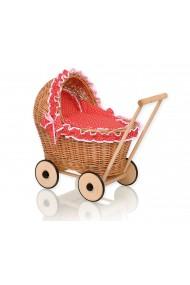Poussette osier pour poupée