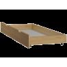 Lit superposé en bois massif Fred 190x90/120 cm