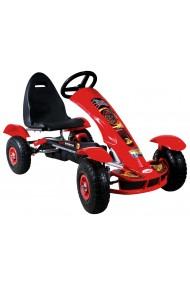 Go-Kart à pédales Formula Sport rouge