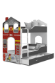 Lit superposé Maison des Pompiers