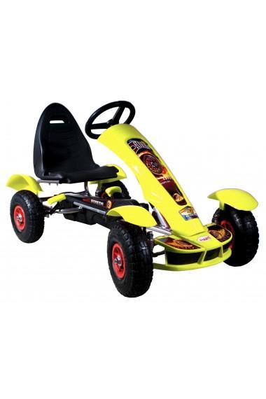 Go-Kart à pédales Formula Sport jaune