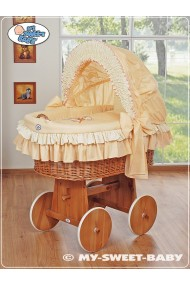 Berceau bébé Teddy osier - Pêche