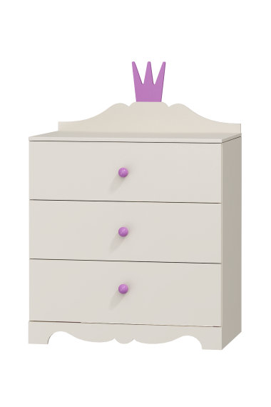Commode Princesse - 3 tiroirs