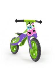 DUPLO VACHE - draisienne bois de vélo sans pédales
