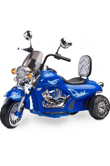 Moto électrique Rebel Bleu