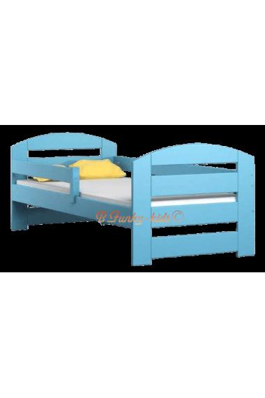 lit enfant en bois de pin massif kam3 160 x 80 cm. Black Bedroom Furniture Sets. Home Design Ideas