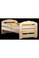 Lit en bois de pin Kam3 160 x 80 cm