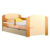 Lit en bois de pin massif avec tiroir Kam4 160 x 80 cm