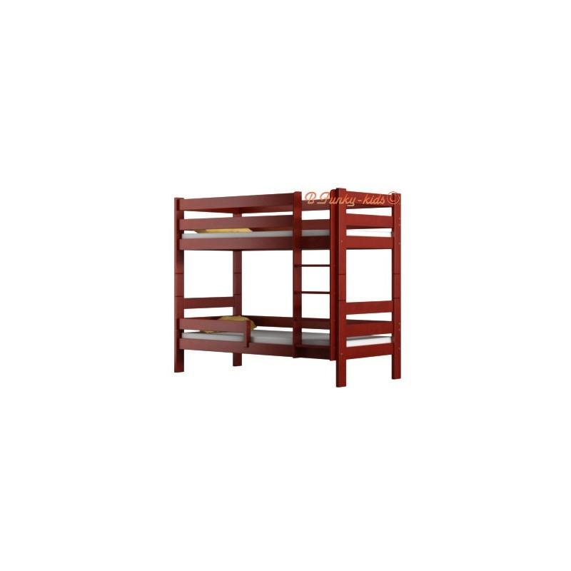 lit superpos en bois massif casper 160x80 cm. Black Bedroom Furniture Sets. Home Design Ideas