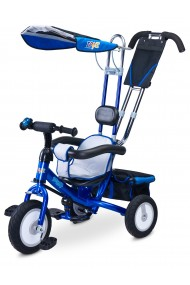 Tricycle evolutif Derby bleue